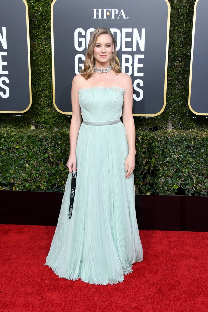Yvonne Strahovski at the 2019 Golden Globes