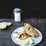 Healthy Breakfast Burritos With Homemade Tortillas
