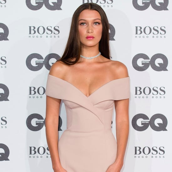 Bella Hadid's Dress at the GQ Men of the Year Awards