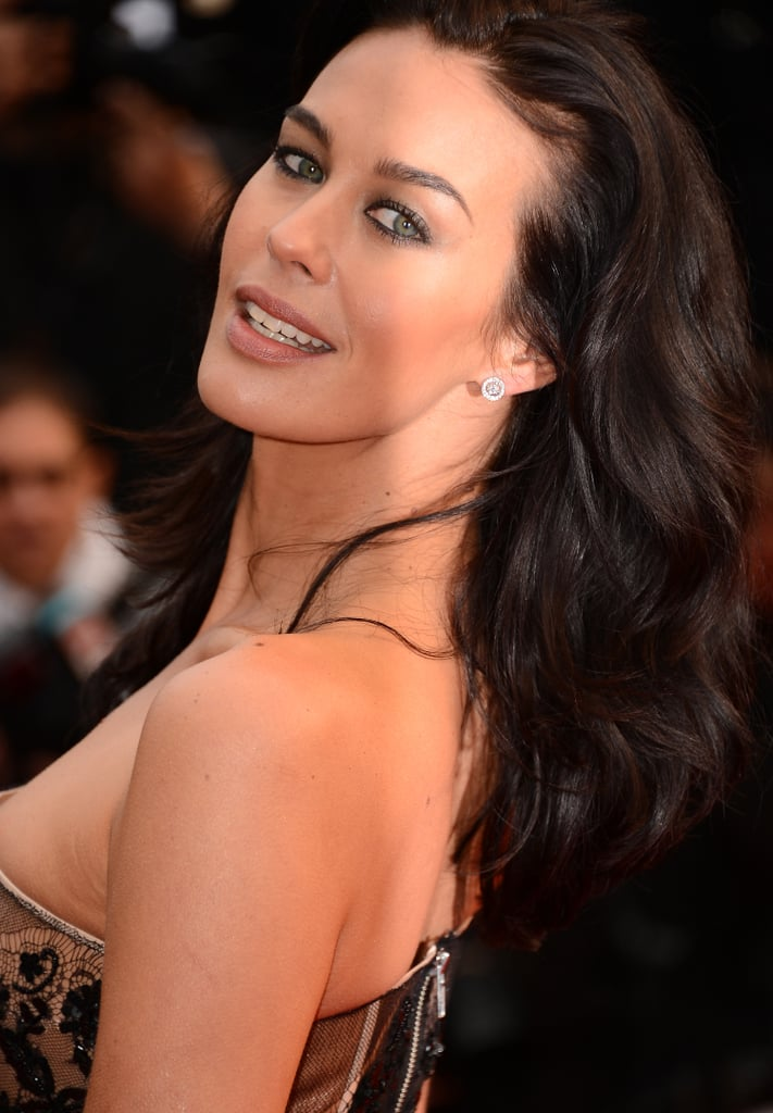 Megan Gale S Beauty Look At 2013 Cannes Film Festival