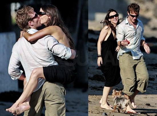 Photos of James Van Der Beek and His Wife