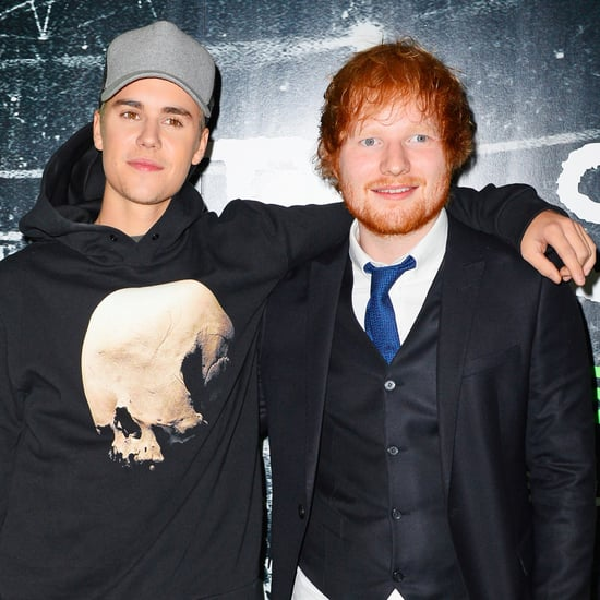 Ed Sheeran Hit Justin Bieber With a Golf Club