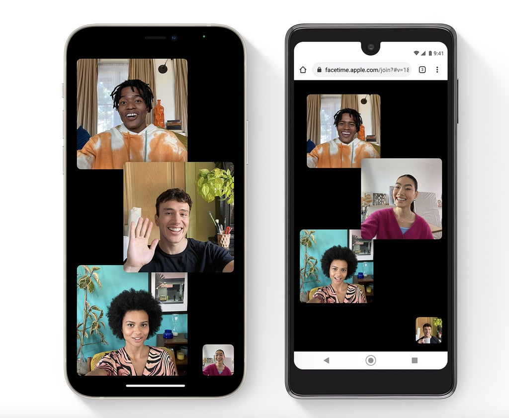 Updated FaceTime Calls and SharePlay
