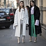 Street Style Pictures From Milan Fashion Week Fall 2017