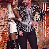 Winnie Harlow and Sam Smith