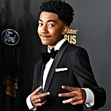 Miles Brown at the 2020 NAACP Image Awards