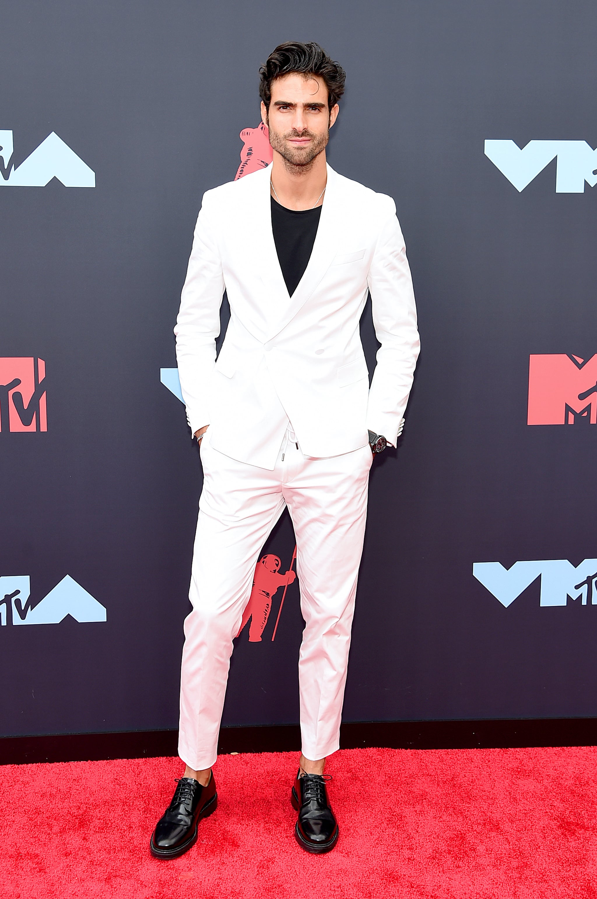 Juan Betancourt | Latinx — Once Again — Brought Their A Game to the VMAs  Red Carpet | POPSUGAR Latina Photo 8