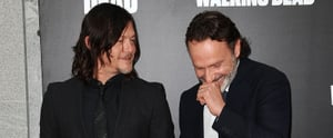 Norman Reedus and Andrew Lincoln Hold Hands, Melt Hearts at The Walking Dead's Premiere