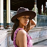 UO Maddie Woven Panama Hat