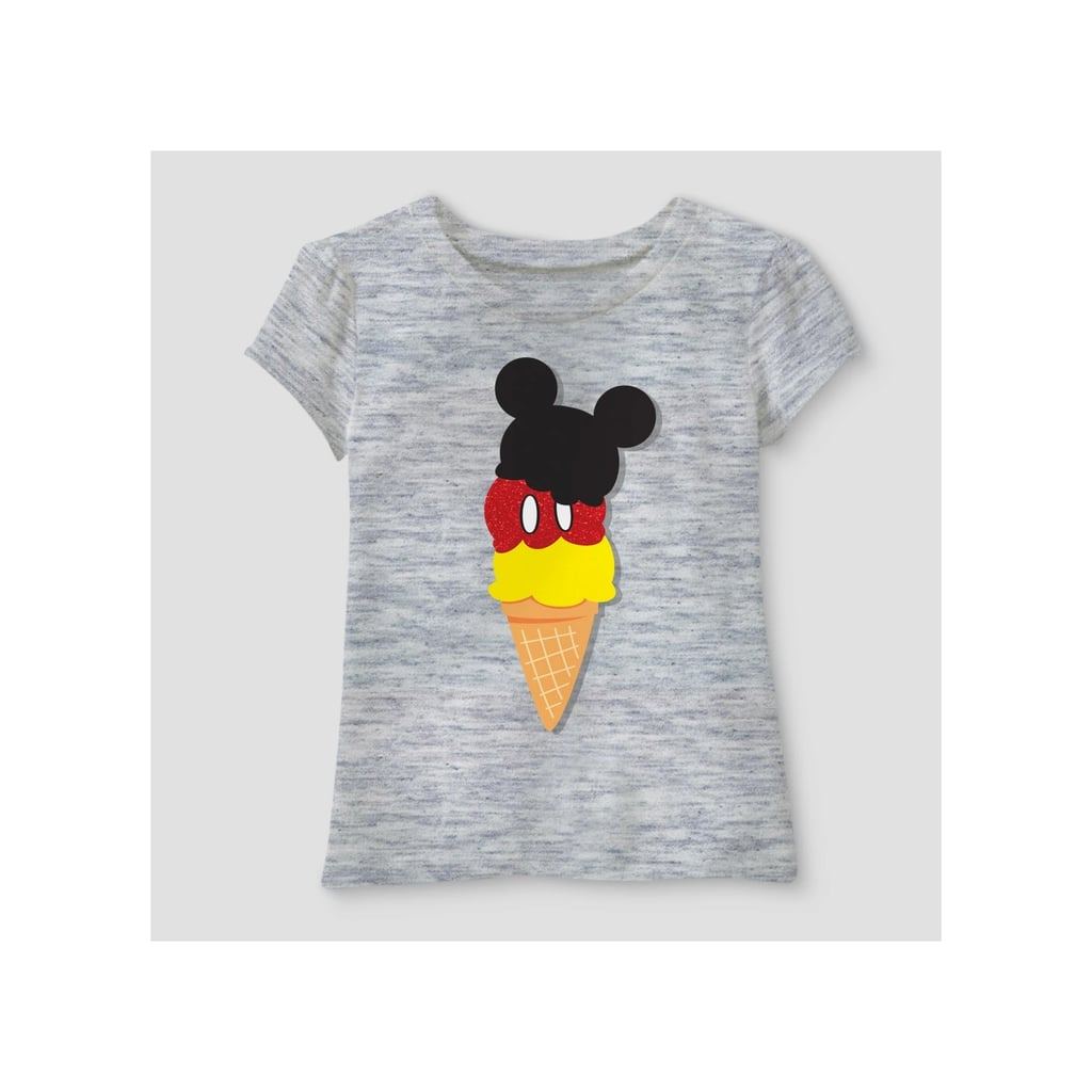 Toddler Girls' Disney Mickey Mouse & Friends Mickey Mouse Short Sleeve T-Shirt
