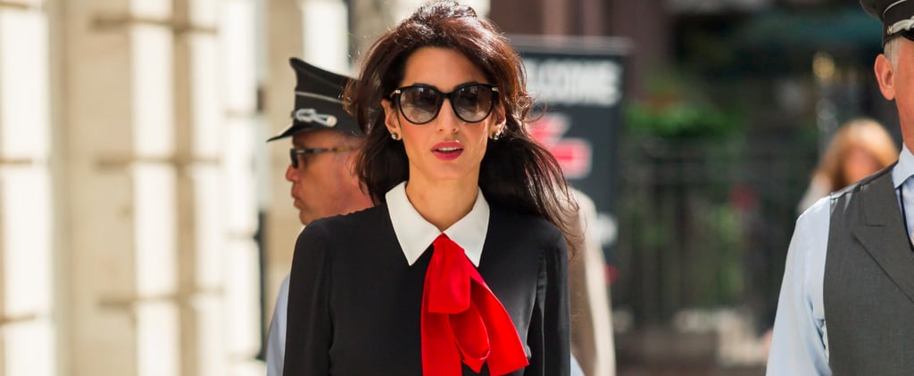 If Amal Clooney's Outfit Looks Familiar, You're Probably a '90s Kid