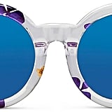 3.1 Phillip Lim Pressed Flower Clear Acetate Oversize Mirror Sunglasses (£210)