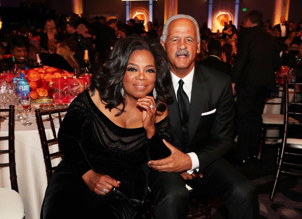 Pictured: Oprah Winfrey and Stedman Graham