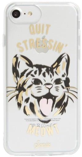 Sonix Quit Stressin' Meowt Iphone 6/6S/7/8 & 6/6S/7/8 Plus Case - Metallic