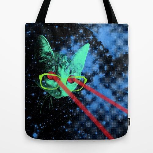 Space Kitteh Tote
