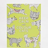 Books Keep Calm & Color Cats Colouring Book ($8)