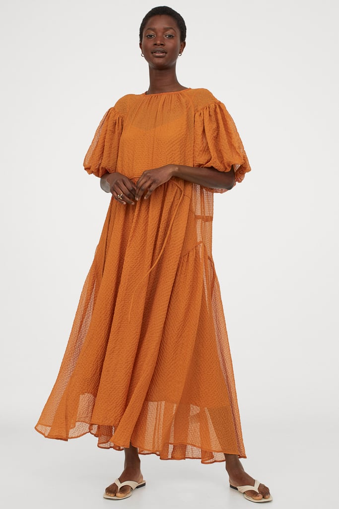 Wide-Cut Dress