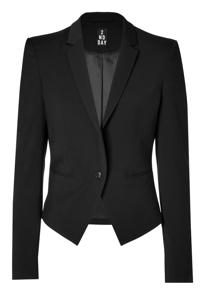 2nd Day Linda sharp black blazer ($142, originally $285)