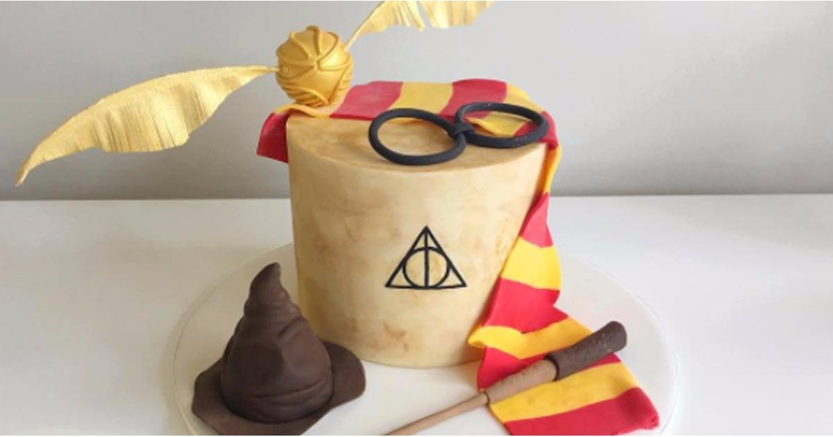 Harry Potter Birthday Cakes For Kids Popsugar Family