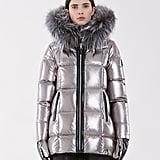 Rudsak Metallic Down Puffer Jacket