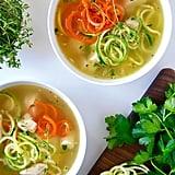 Courgette-Noodle Chicken Soup