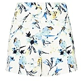 New Look white floral print shorts (£18)