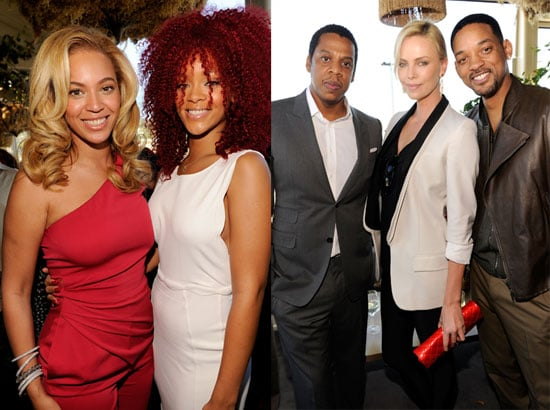 Pictures of Ryan Phillippe, Jay-Z, Beyonce Knowles, Charlize Theron, Rihanna, and Will Smith at a Pre Grammys Brunch