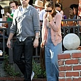 Jason and Olivia grabbed lunch in Los Feliz.
