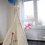 Personalized Heart Teepee