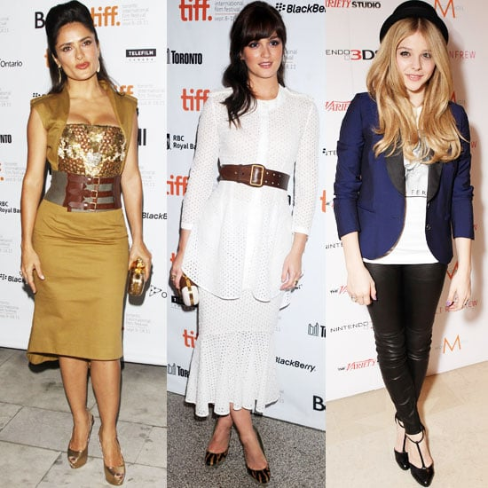 Celebrities Like Leighton Meester, Salma Hayek and Chloe Moretz Wear Alexander McQueen
