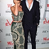 Kristen Stewart and Chris Hemsworth posed at a Snow White and the Huntsman screening in Sydney.