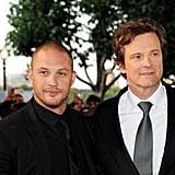 With Colin Firth at the Tinker, Tailor, Soldier, Spy London premiere in 2011.