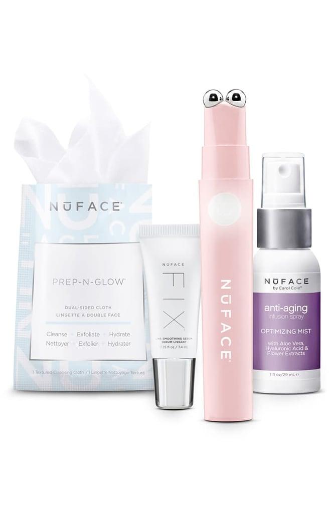 NuFace Fix Wanderlust Microcurrent Skin Care Set
