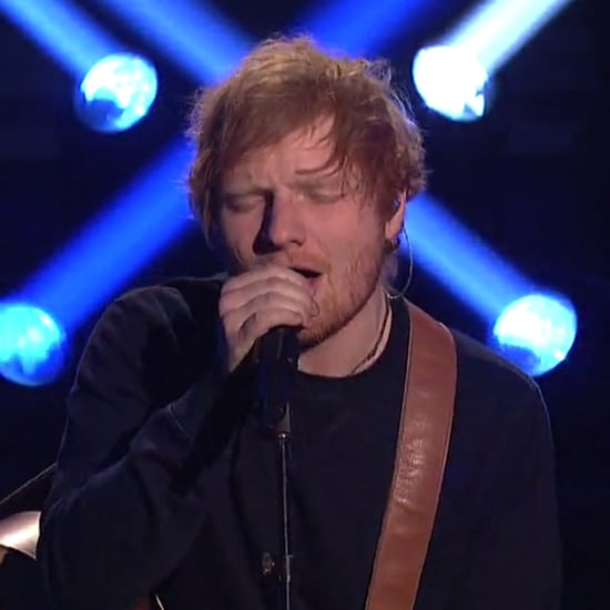 "Ed Sheeran Performs ""Shape of You"" on SNL February 2017"