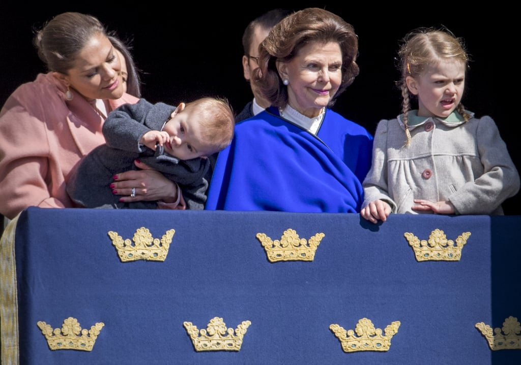Swedish Royals at King Carl's Birthday Celebration