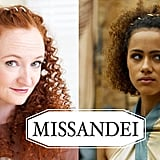 Girls with curls can steal the beautiful Missandei's braided headband look!
