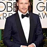 Pictured: Sam Heughan