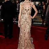 Taylor Swift Zuhair Murad Pictures at 2012 Grammys
