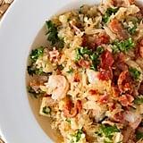 Grain-Free Bacon and Shrimp Risotto