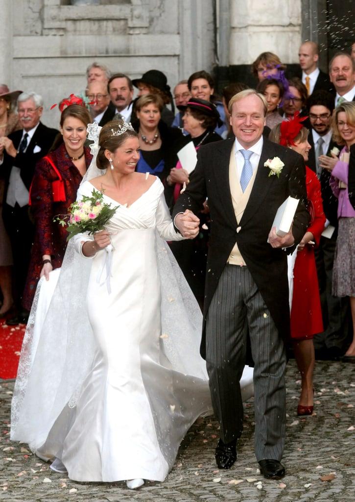Prince Carlos and Annemarie Gualthérie Van Weezel