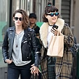 Kristen Stewart and Soko Kissing in Paris