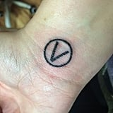 Vegan Symbol Tattoo