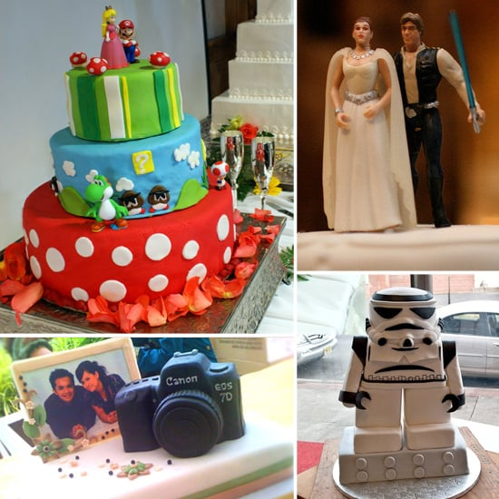 20 Geeky Cakes For Wedding Day Inspiration