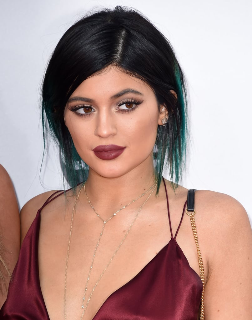 Kylie Jenner AMAs Lips and Makeup 2014