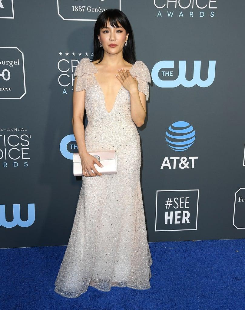 Constance Wu at Critics' Choice Awards