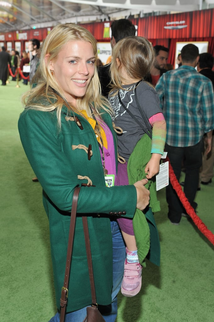 Busy Philipps brought Birdie out to see The Muppets.