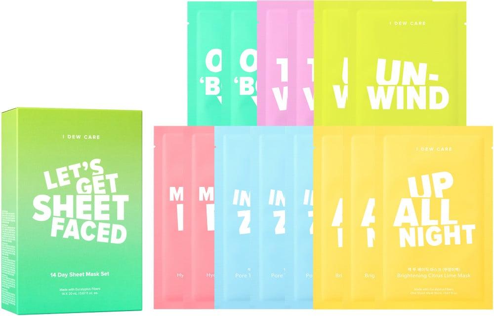 Let's Get Sheet Faced Sheet Mask Set