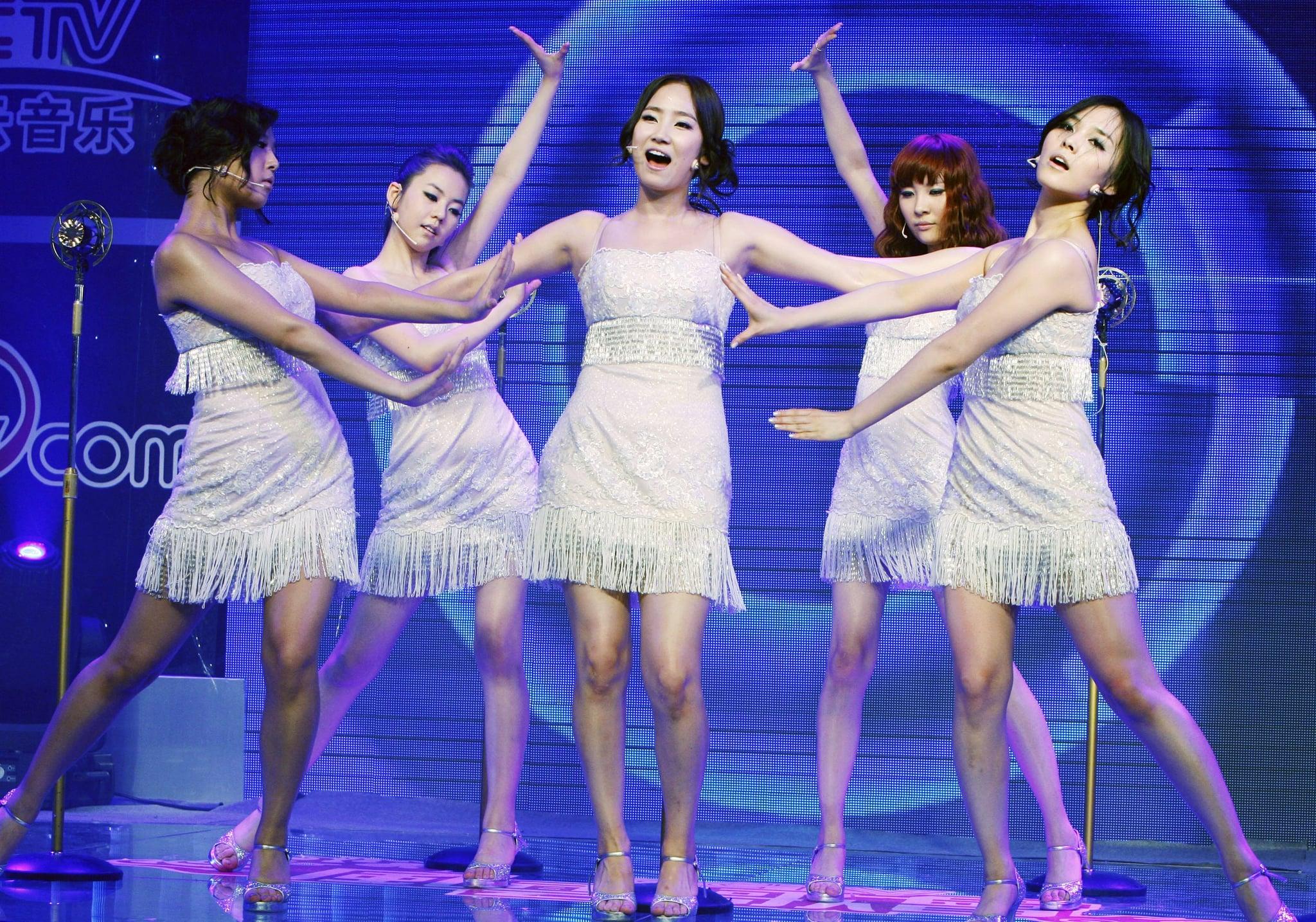 BEIJING, CHINE - 11 juin: (Chine) groupe de filles sud-coréen Wonder Girls effectuer lors d'une réunion de fans le 11 juin 2009 à Beijing, Chine.  (Photo par Zhao Kang / Visual China Group via Getty Images)