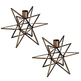 Cypress Home Moravian Star Candle Holders