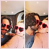 Kaley Cuoco and Ryan Sweeting got cute for the camera.